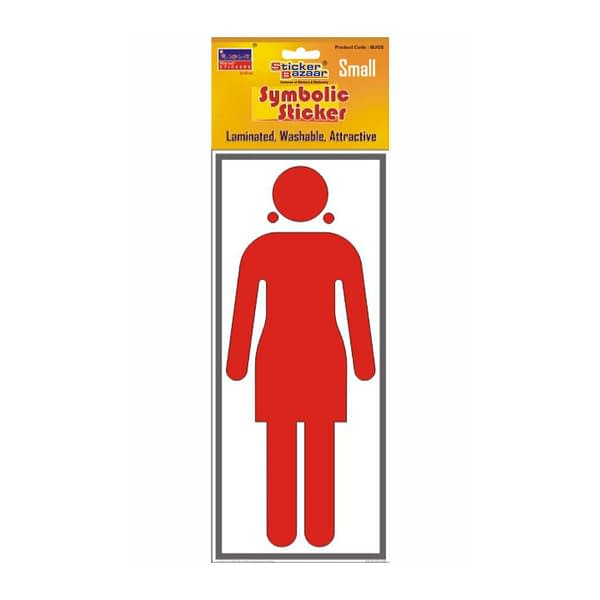 Ladies Without Name Small Symbolic Sticker