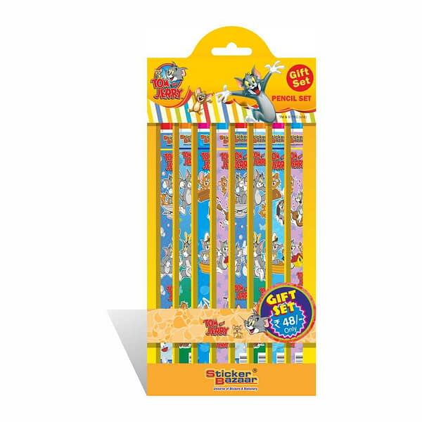 Tom & Jerry Pencil Gift Set