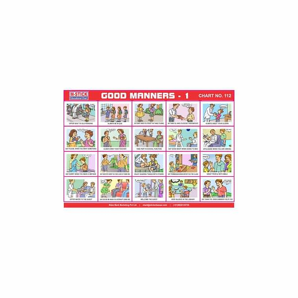 M-Stick Educational Chart 112 Good Manners-1