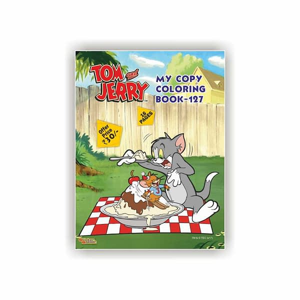 Tom & Jerry My Copy Coloring Book